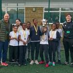 Shaftesbury Park win Girls football in style.