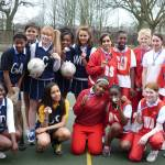 Netball tournaments go hot & cold!