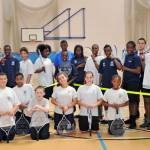 MP's visit Southfields for Cardio Tennis