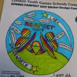 Wandsworth School Games - Stickers 2017