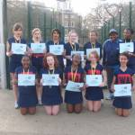 Wandsworth WOW at  CL Netball Finals